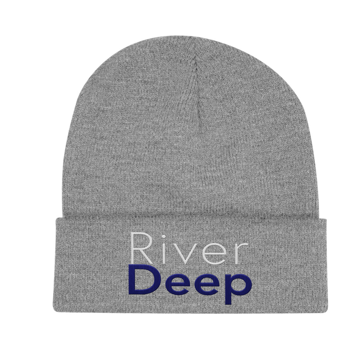 River Deep Folded Beanie