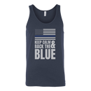 Keep Calm And Back The Blue Tank Top