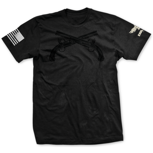 Blackout U.S. Army Military Police Badge Tee