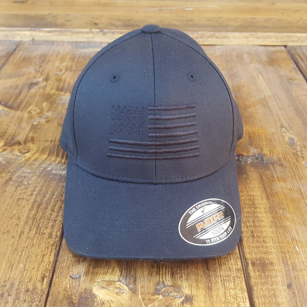 Youth Blackout FlexFit Cap