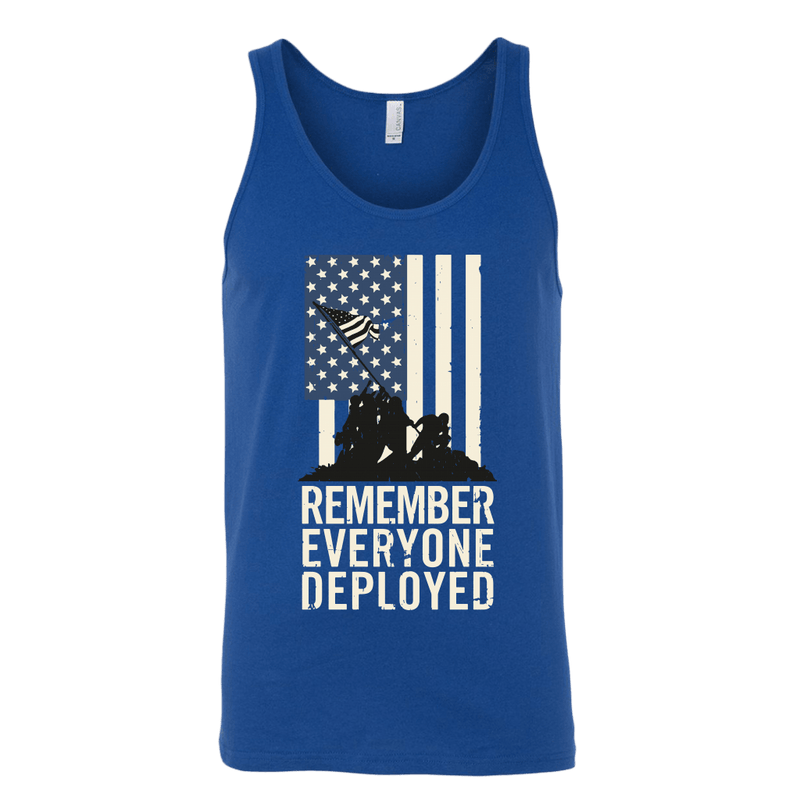 Remember Everyone Deployed Tank Top