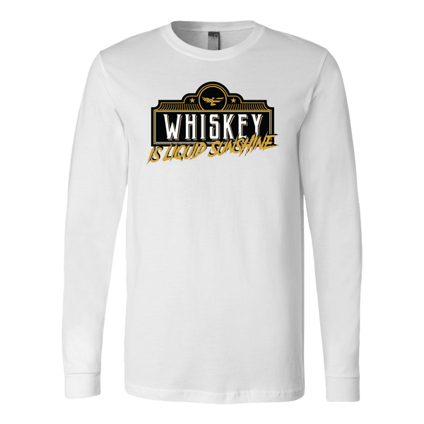 Whiskey Is Liquid Sunshine Long Sleeve