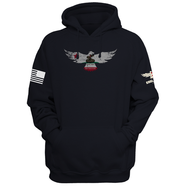 California Don't Tread On Me Eagle Hoodie
