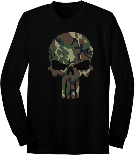 Camo Fearless Patriot Long Sleeve