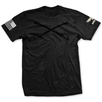Choose Your Rank Blackout U.S. Army Cavalry Badge Tee