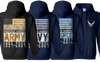 Choose Your Branch And When You Served Personalized Hoodie