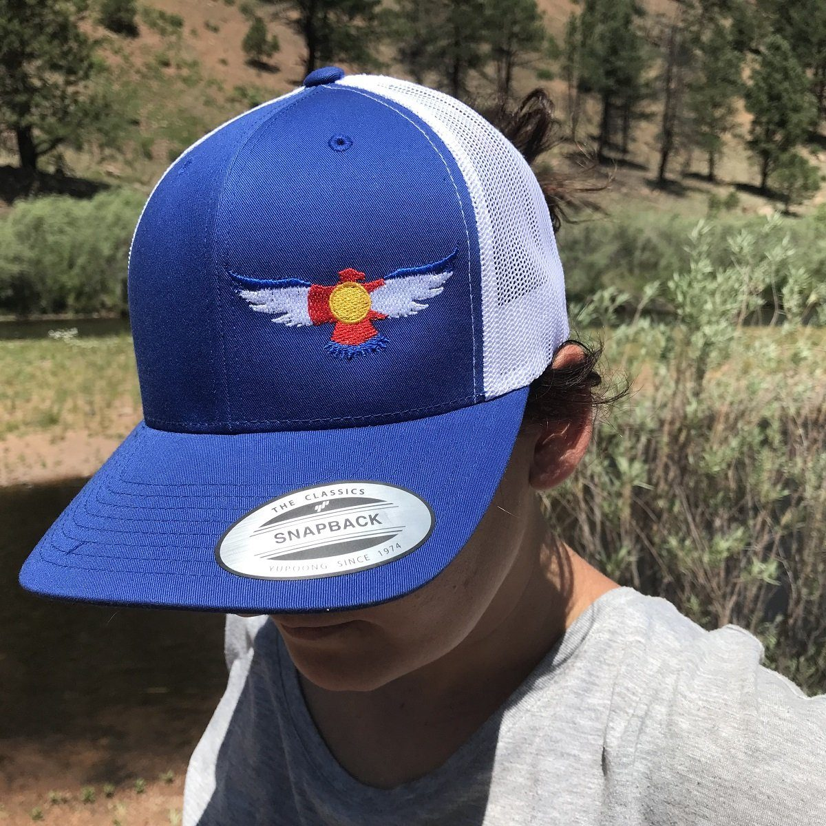 Colorado Snap back Stealth Eagle Cap