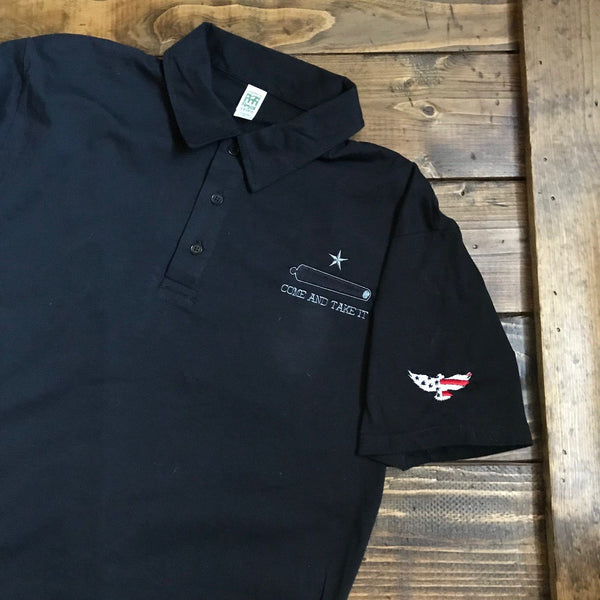 Come and Take this American Made Polo