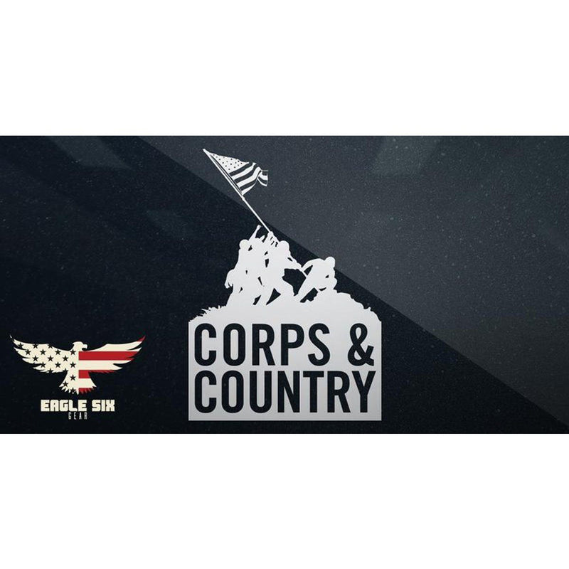 Corps & Country Decal