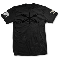 Choose Your Rank Blackout U.S. Army Cyber Corps Badge Tee
