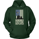 Remember Everyone Deployed Unisex Hoodie
