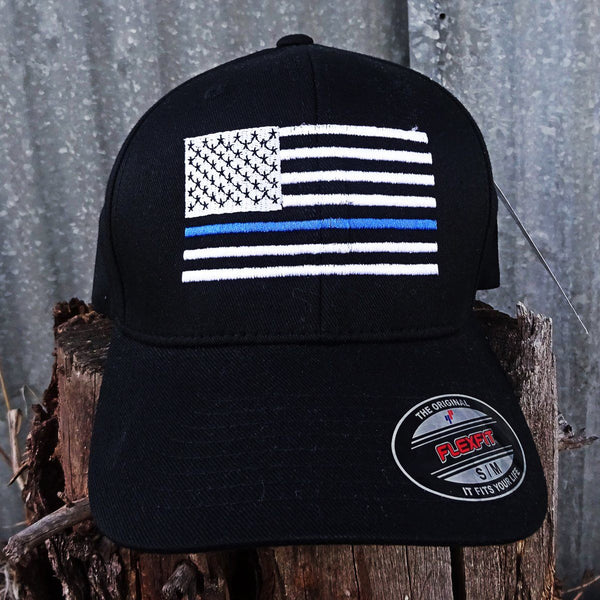 Police Flag Cap - Discontinued