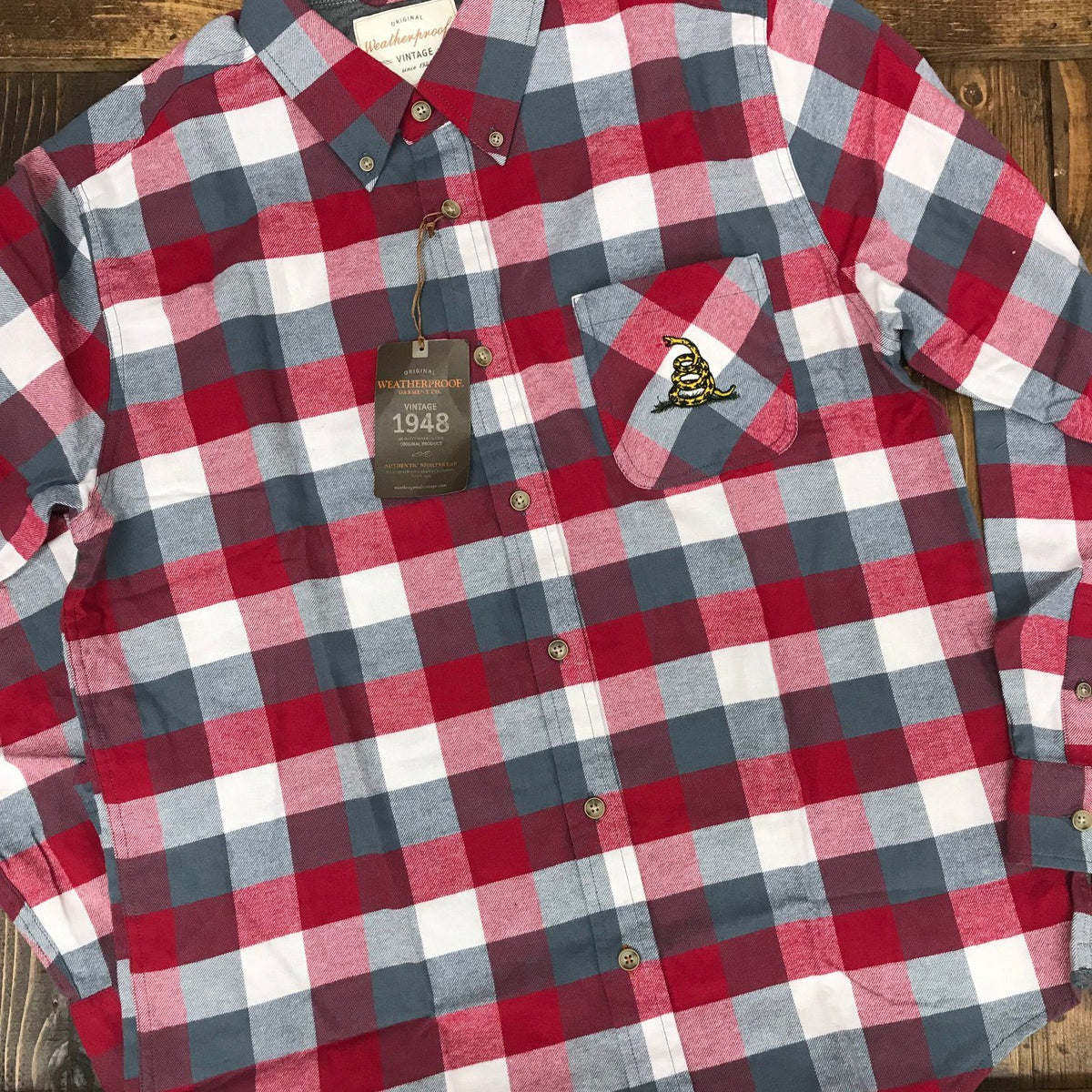 Don't Tread on Me Flannel Shirt
