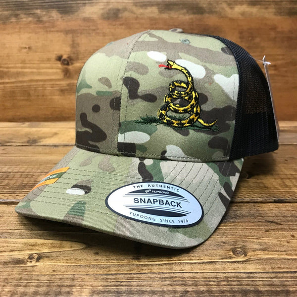 Don't Tread on Me Multicam Trucker Hat