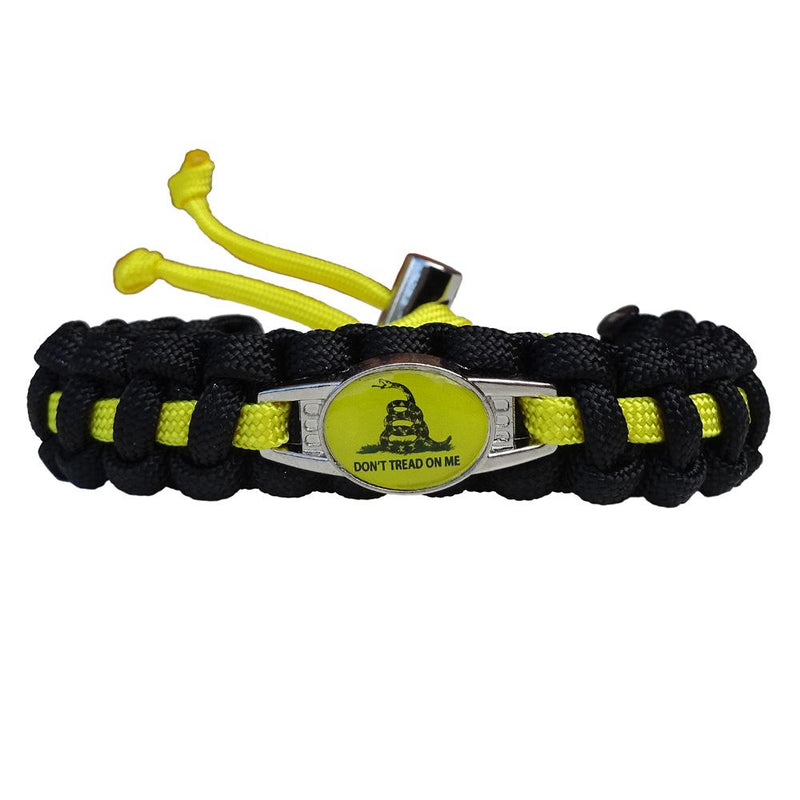 Don't Tread on Me Paracord Bracelet