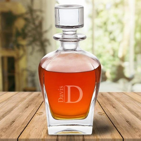 Personalized  Draper Style 24 oz. Whiskey Decanter