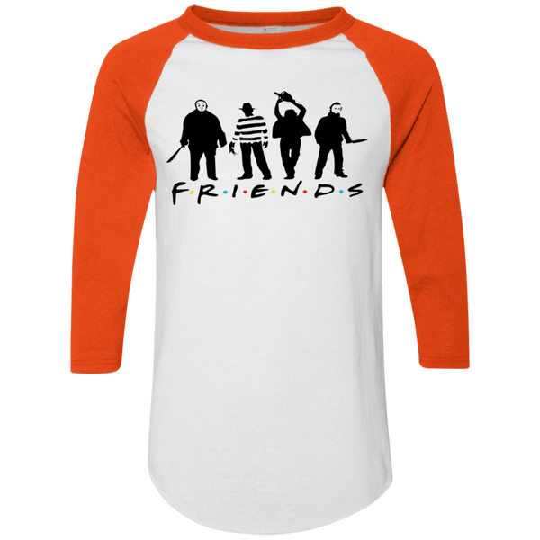 Friends Halloween Raglan T-shirt