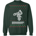 Motocross Ugly Christmas Sweater