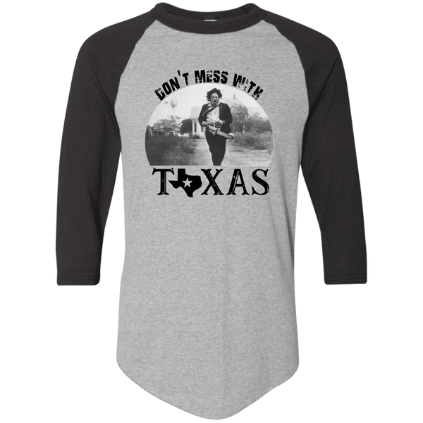 Don't Mess with Texas Raglan T-shirt