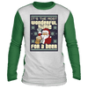 Wonderful Time For A Beer Ugly Raglan Sweater