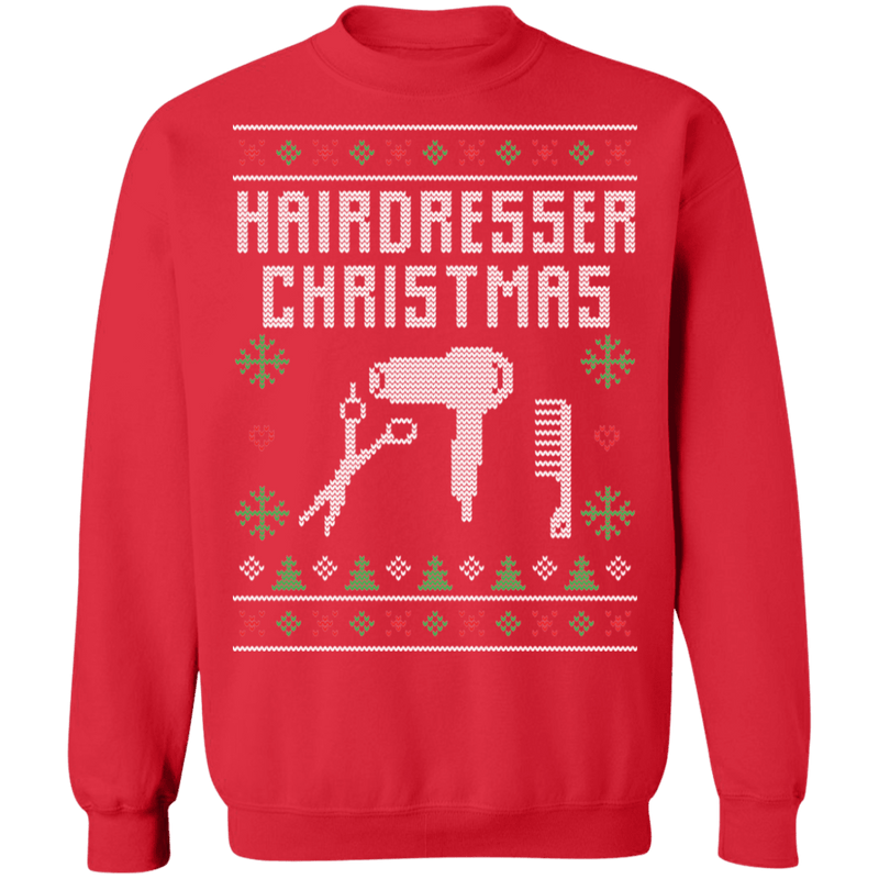 Hairdresser Ugly Christmas Sweater