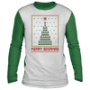 Merry Beermas  Ugly Raglan Sweater