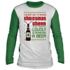 The Best Way To Spread Christmas Cheer  Ugly Raglan Sweater