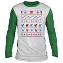 Air Force Ugly Christmas 'Sweater' Long Sleeve