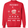 Meowee Christmas Ugly Christmas Sweater