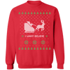 I Want Believe Ugly Christmas Sweater