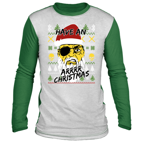 Image of Have An Arrr Christmas Ugly Christmas 'Sweater' Long Sleeve