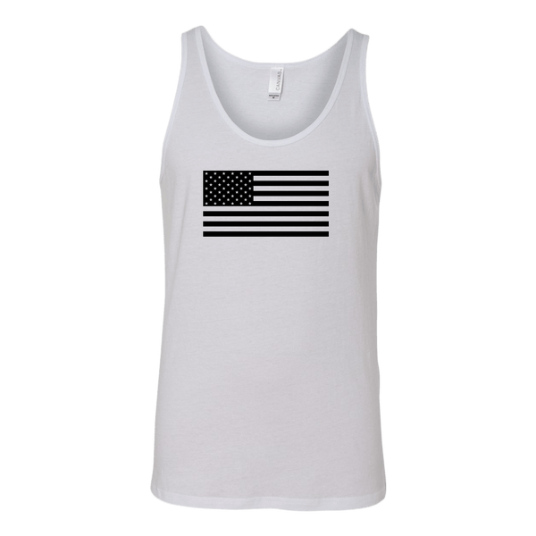 The Black USA Flag Tank Top