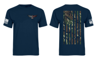 Eagle Six - Camo Flag Shirt