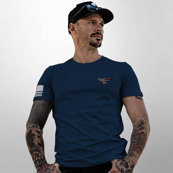 Eagle Six - Skull Wings Tee