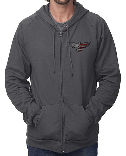 Eagle Six Zip Up Hooded Sweatshirt