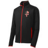 Sport-Tek® Fearless Patriot Skull Sport-Wick® Stretch Contrast Full-Zip Jacket