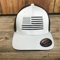 Flexfit Stretch Mesh USA Flag Hat
