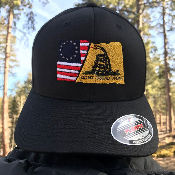 gadsden flag flexfit hat