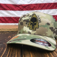 Molon Labe Arrow Multicam Cap