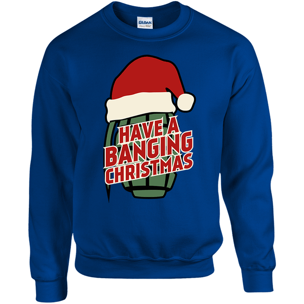 """Have A Banging Christmas"" Ugly Christmas Sweater"
