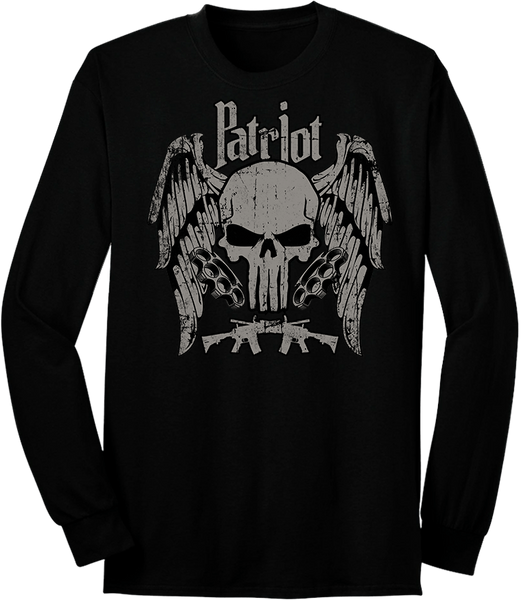 Hardcore Fearless Patriot Long Sleeve