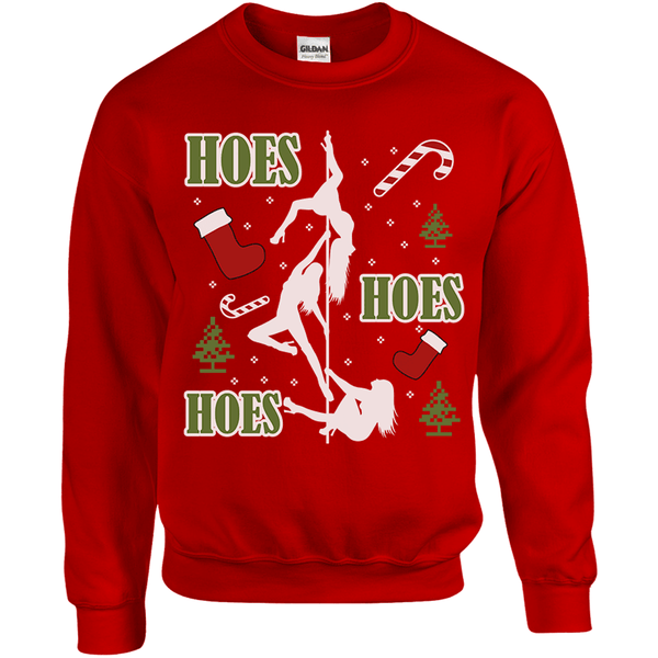 Hoes Hoes Hoes Christmas Sweater