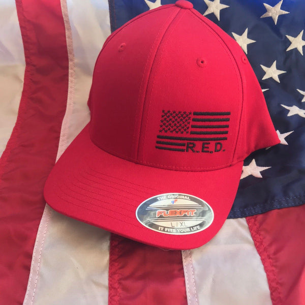 R.E.D Side Flag Hat