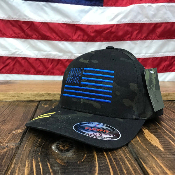 The Black Multicam Night Hat