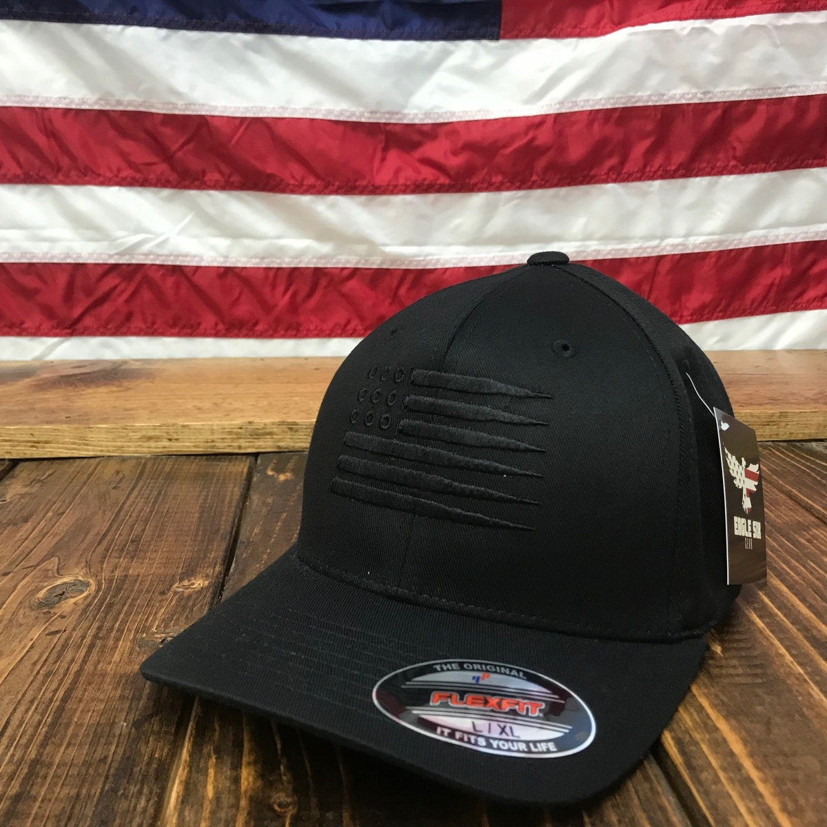 82b51a567ec48 The Blackout Bullet Flag Hat