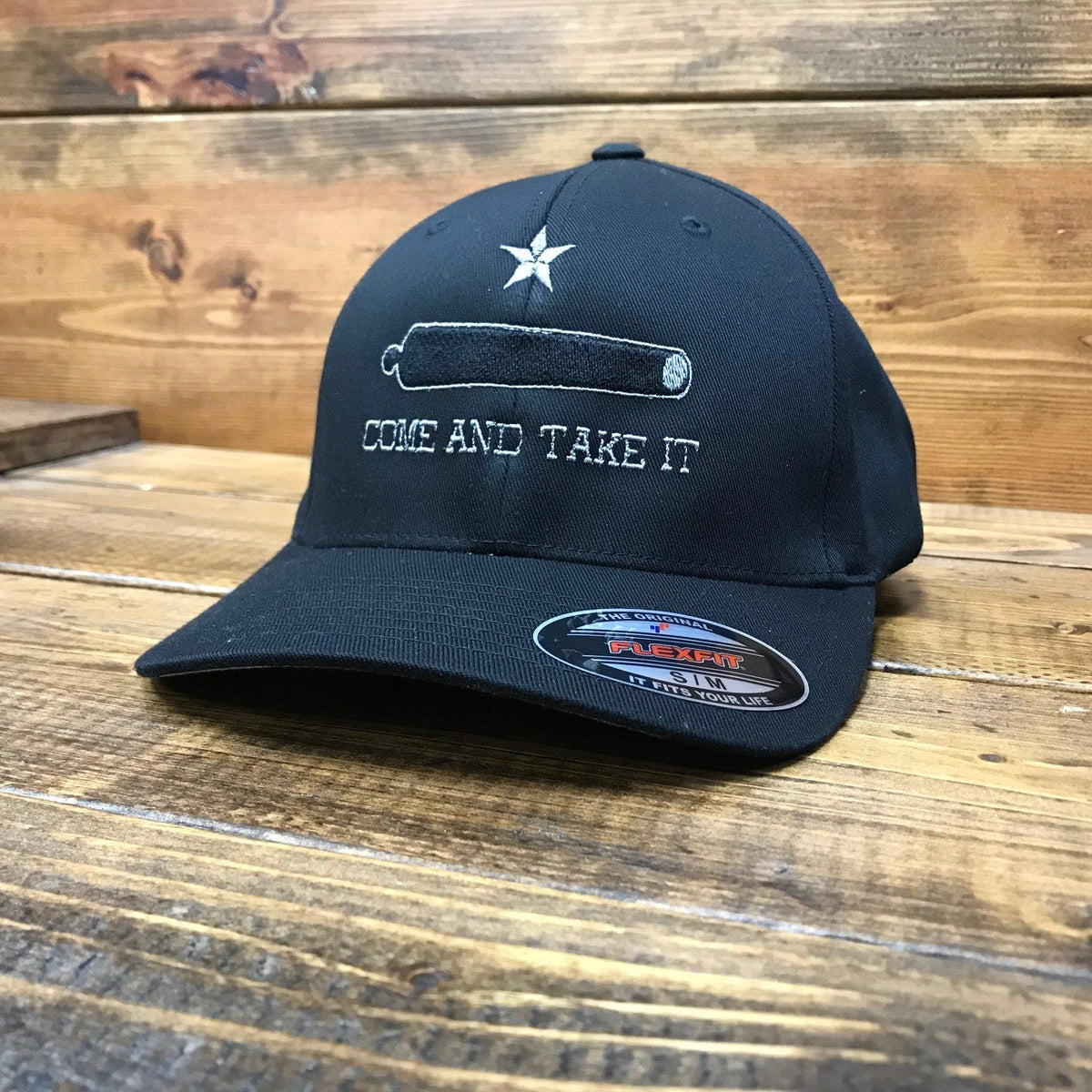 6fb2bb1aadae6 Come And Take It Flexfit Hat - Discontinued - Eagle Six Gear