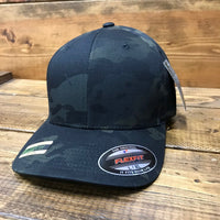Stealth Black Multicam Hat
