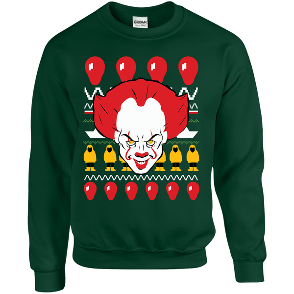 IT Clown Ugly Christmas Sweater