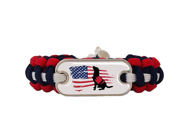 VSD Dog Tag Paracord Bracelet