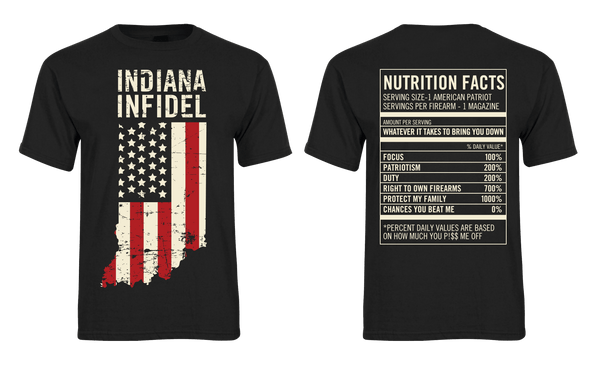 Indiana Infidel Nutrition Facts